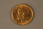 1922 British gold coin
