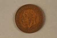 2019.81.5 front 1936 British penny  Click to enlarge