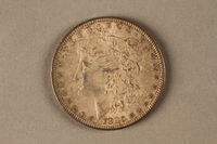 2019.81.6 front 1880 American half dollar coin  Click to enlarge