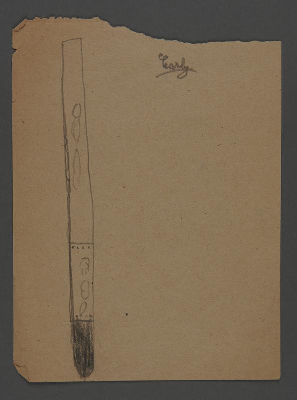 2002.420.70 front Pencil sketch