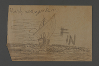 2002.420.106 front Drawing of a ship  Click to enlarge