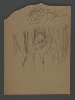 2002.420.66 front Pencil sketch  Click to enlarge