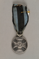 2019.21.3 front Silver Medal of Merit  Click to enlarge