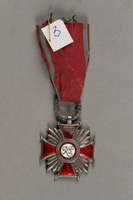 2019.21.4 front Silver Cross of Merit  Click to enlarge