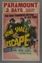 "Window card for the film ""None Shall Escape"" (1944)"