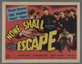 """Set of six lobby cards for the film """"None Shall Escape"""" (1944)"""