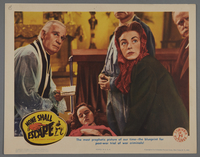 """2018.590.107.5 front Set of six lobby cards for the film """"None Shall Escape"""" (1944)  Click to enlarge"""
