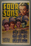 """Poster for the film """"Four Sons"""" (1940)"""