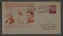Commemorative envelope honoring World War II bombardier Meyer Levin