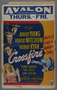 """Window card for the film """"Crossfire"""" (1947)"""