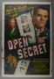 "One-sheet poster for the film ""Open Secret"" (1948)"
