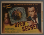"""Set of eight lobby cards for the film """"Open Secret"""" (1948)"""