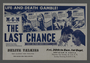 """English-language international herald for the film """"The Last Chance"""" (1945)"""