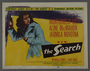 """Set of seven lobby cards for the film """"The Search"""" (1948)"""