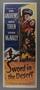 """Insert poster for the film """"Sword in the Desert"""" (1949)"""