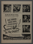 """Set of four magazine advertisements for the film """"Sword in the Desert"""" (1949)"""