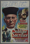 """Belgian window card for the movie """"Pastor Hall"""" (1940)"""