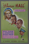 """British trade advertisement for the movie """"Pastor Hall"""" (1940)"""