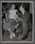 """Publicity photographs of Eleanor Roosevelt for the movie """"Pastor Hall"""" (1940)"""