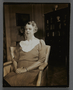 """Photographic print of Eleanor Roosevelt promoting the movie """"Pastor Hall"""" (1940)"""