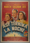 """Argentine One-Sheet Poster for the film """"So Ends Our Night"""" (1941)"""
