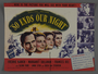 """United States advertisement for the film """"So Ends Our Night"""" (1941)"""