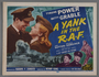 """Lobby Card for the film """"A Yank in the R.A.F."""" (1941)"""
