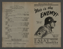 """Advertisement for the film """"This is the Enemy"""" (1942)"""