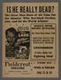 "U.S. re-release advertisement for the film ""Hitler, Beast of Berlin"" (1939)"