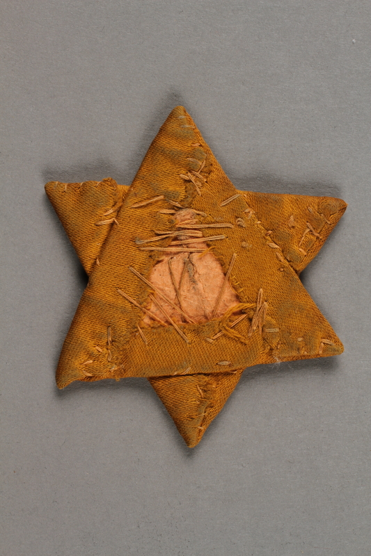 2019.183.2 back Star of David badge