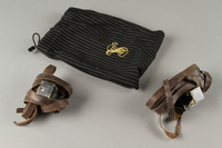 2019.131.2 a-c front Tefillin with pouch  Click to enlarge