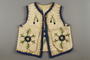 Hand-embroidered child's vest made by a Polish Jewish woman