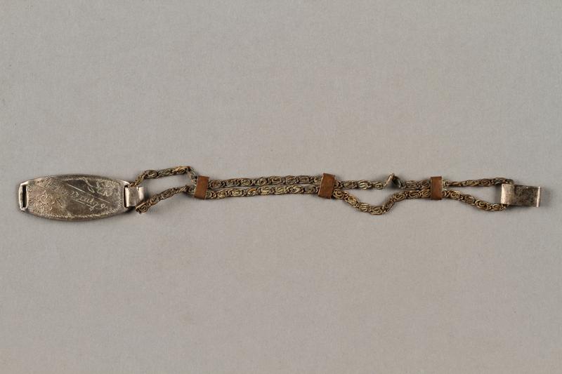 2019.183.6 front Bracelet made by Vapniarka prisoners