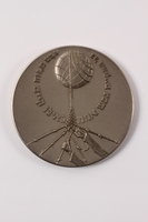 1992.72.1 a front Medal issued by Yad Vashem  Click to enlarge