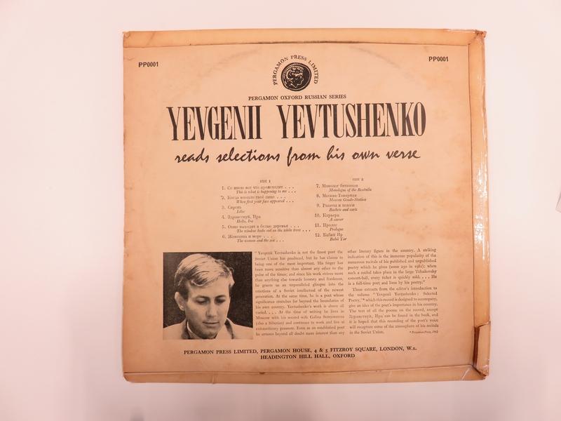 Yevgenii Yevtushenko Recites Poems