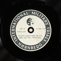 Day 27 International Military Tribunal, Nuremberg (Set A)  Click to enlarge