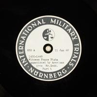 Day 32 International Military Tribunal, Nuremberg (Set A)  Click to enlarge