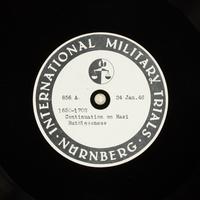 Day 42 International Military Tribunal, Nuremberg (Set A)  Click to enlarge