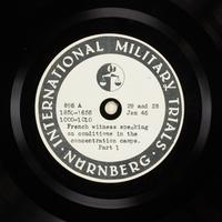 Day 45 International Military Tribunal, Nuremberg (Set A)  Click to enlarge