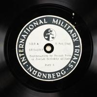 Day 51 International Military Tribunal, Nuremberg (Set A)  Click to enlarge