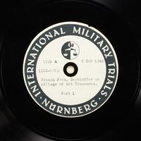 Day 52 International Military Tribunal, Nuremberg (Set A)  Click to enlarge