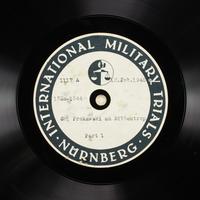 Day 57 International Military Tribunal, Nuremberg (Set A)  Click to enlarge