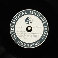 Day 64 International Military Tribunal, Nuremberg (Set A)  Click to enlarge