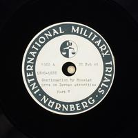 Day 65 International Military Tribunal, Nuremberg (Set A)  Click to enlarge