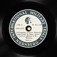 Day 69 International Military Tribunal, Nuremberg (Set A)  Click to enlarge