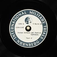 Day 73 International Military Tribunal, Nuremberg (Set A)  Click to enlarge