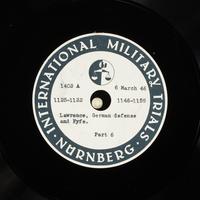 Day 75 International Military Tribunal, Nuremberg (Set A)  Click to enlarge
