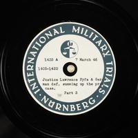 Day 76 International Military Tribunal, Nuremberg (Set A)  Click to enlarge