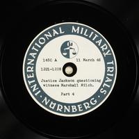 Day 78 International Military Tribunal, Nuremberg (Set A)  Click to enlarge
