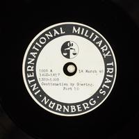 Day 81 International Military Tribunal, Nuremberg (Set A)  Click to enlarge
